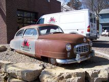 Antique car  from American Pickers Stock Photos
