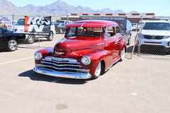 Antique Car: 1948 Chevy Fleetmaster with Sun Shield Royalty Free Stock Photography