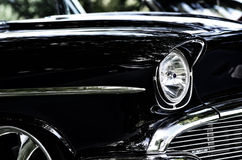 Antique car close up Stock Image