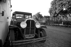Antique Car in Colonia, Uruguay Stock Photo