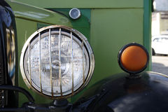 Antique car detail Royalty Free Stock Photos