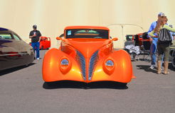 Antique Car: 1939 Ford Custom Cabriolet/Front View Stock Images
