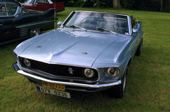 Antique car Ford Mustang Stock Photo