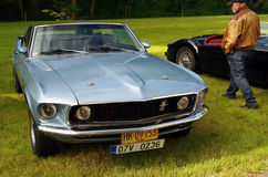 Antique car Ford Mustang Royalty Free Stock Photography