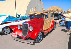 Antique Car: 1934 Ford >Phantom< Woodie Stock Images