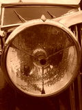 Antique car headlight Royalty Free Stock Images