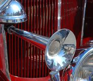 Antique Car Horn Royalty Free Stock Photo