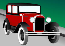 Antique Car Illustration Stock Image