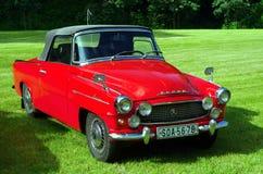Antique car Škoda Stock Photo