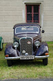 Antique car Mercedes Royalty Free Stock Photos