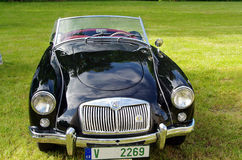 Antique car MG Stock Photography