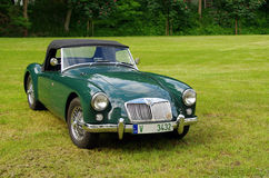 Antique car MG Royalty Free Stock Photo