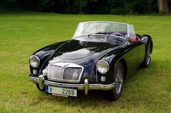 Antique car MG Stock Image