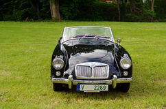Antique car MG Royalty Free Stock Images
