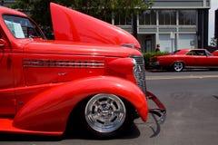 Antique Car at the Napa Main St Reunion Car Show stock photo