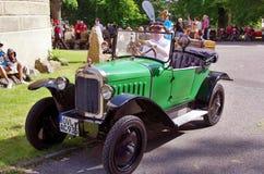 Antique car Opel Stock Photo