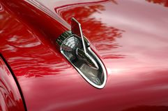 Antique car ornament detail Stock Photo