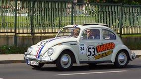 Volkswagen Käfer Y Herbie 1960 Royalty Free Stock Images