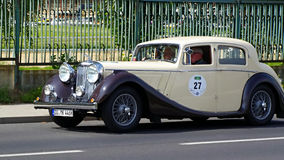 Jaguar MK IV 1946 Stock Images