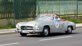 Antique car, Sachsen Classic 2014 Stock Photos