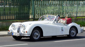Jaguar XK 140 DHC 1956 Royalty Free Stock Image