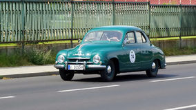 Antique car, Sachsen Classic 2014 Royalty Free Stock Image