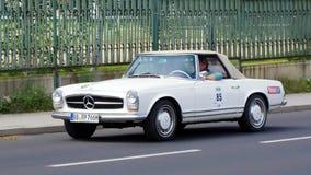 Antique car, Sachsen Classic 2014 Stock Photo