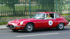 Jaguar E-Type Serie III 1973 royalty free stock image