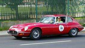 Jaguar E-Type Serie III 1973 Royalty Free Stock Image