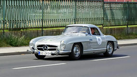 Mercedes-Benz 300 SL Roadster 1958 Royalty Free Stock Images