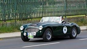 Antique car, Sachsen Classic 2014 Royalty Free Stock Photos