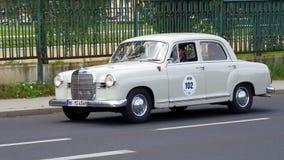 Mercedes-Benz 190, W121 1961 Stock Photos