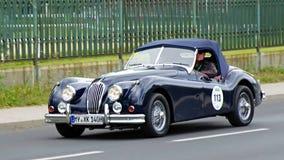 Jaguar XK 140 SE OTS 1955 Stock Photography