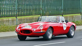 Jaguar E-Type S1 Competition 1962 Stock Image