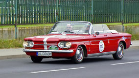 Chevrolet Corvair Monza 1963 Royalty Free Stock Photo