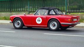 Triumph TR 6 P I 1970 Royalty Free Stock Photos