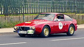 Alfa Romeo 1300 GT Junior Zagato 1971 Stock Image