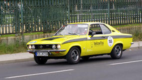 Opel Manta 1600 S 1971 Stock Photo