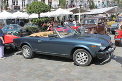 Antique car show, Gibraltar Royalty Free Stock Photos