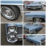 Antique car show new york 1965 cadillac sedan de ville stock image
