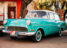 Antique Car show Stock Photo