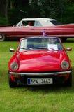 Antique car Triumph spitfire 1500 Stock Photos