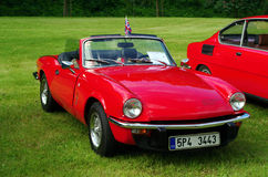 Antique car Triumph spitfire 1500 Royalty Free Stock Photography