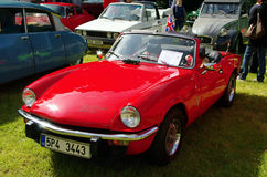 Antique car Triumph Spitfire 1500 Stock Photo