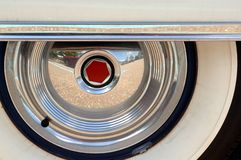 Antique Car Whitewalls Royalty Free Stock Image