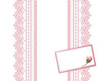 antique card gift lace present διανυσματική απεικόνιση