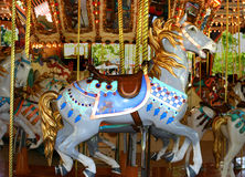 Antique Carousel Royalty Free Stock Photography