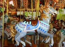 antique carousel Στοκ φωτογραφία με δικαίωμα ελεύθερης χρήσης