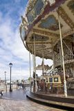Antique carousel. Honfleur Royalty Free Stock Photos