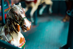 Antique Carousel Horse Royalty Free Stock Photos